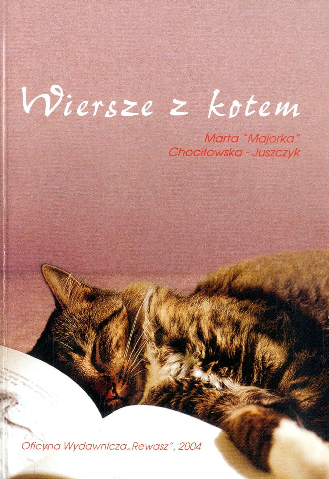 Wiersze Z Kotem Marta Chociłowska Juszczyk Wbibliotecepl