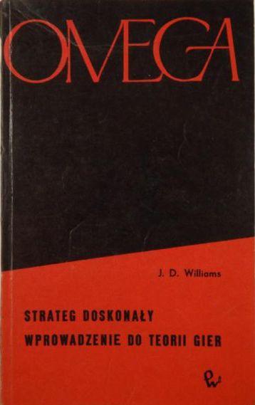 Znalezione obrazy dla zapytania Williams Strateg doskonały - Wprowadzenie do teorii gier